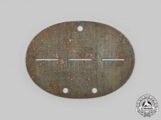 Germany, SS. A SS-Flak-Abteilung 105 Identification Tag