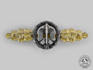 Germany, Luftwaffe. A Short-Range Night Fighter Squadron Clasp, Gold Grade