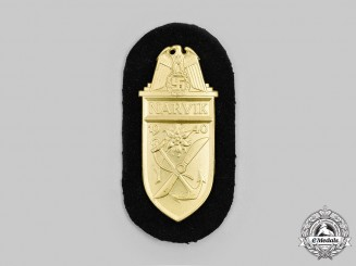 Germany. A Mint Kriegsmarine Issue Narvik Shield