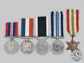 United Kingdom. A Second War Lot of Five Awards