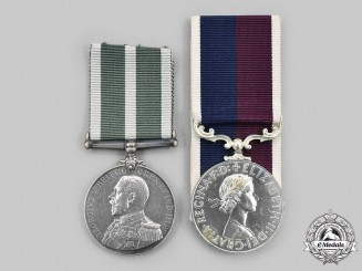 United Kingdom. Two Service Decorations