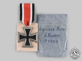 Germany, Wehrmacht. A 1939 Iron Cross I Class, by Hermann Wernstein