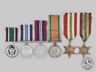 United Kingdom. A Lot of Six Second War Period Awards