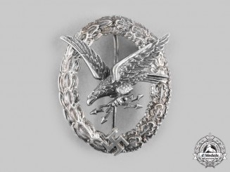 Germany, Luftwaffe. A Radio Operator and Air Gunner Badge, by F.W. Assmann & Söhne