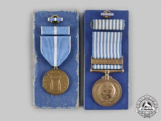 United States. Two Korean War Service Medals
