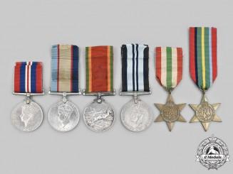 United Kingdom. A Second War Lot of Six Awards
