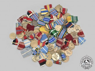 United States. Lot of Sixty Armed Forces Medals and Awards