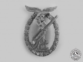 Germany, Luftwaffe. A Flak Badge, by Wilhelm Hobacher