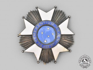 Brazil. A National Order of the Southern Cross, Grand Officer's Cross, c. 1950