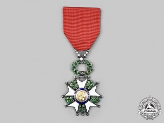 France, III Republic. An Order of the Legion of Honour, Knight with Gold and Diamonds, by Arthus-Bertrand, c. 1918