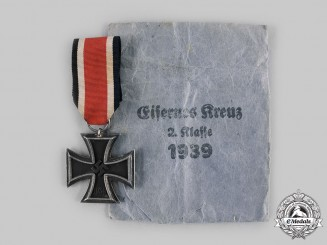 Germany, Wehrmacht. A 1939 Iron Cross II Class, by Arbeitsgemeinschaft Hanau