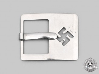 Germany, Third Reich. An Early NSDAP Sympathizer's Belt Buckle