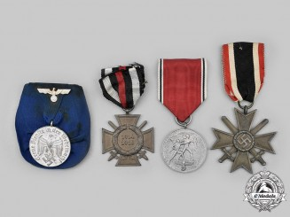 Germany, Wehrmacht. A Lot of Service Medals