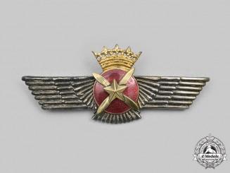 Spain, Facist Period. An Air Force Pilot/Observer Badge c.1955