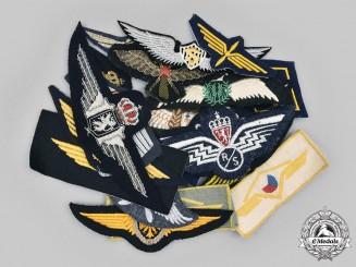 International. A Lot of Twenty-Two Air Force Badges