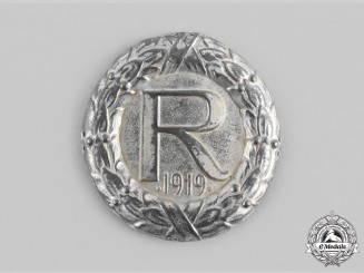 Germany, Weimar Republic. A Freikorps Volunteer Regiment Reinhard Sleeve Insignia