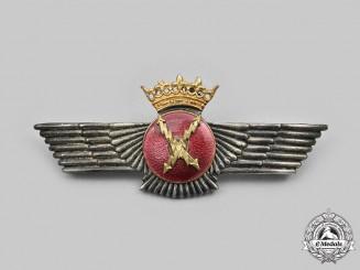 Spain, Francoist Era. An  Air Force Radio Operator Badge c. 1950s-1960s