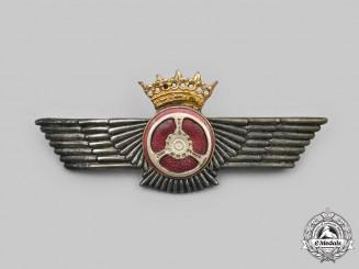 Spain, Francoist Era. A Spanish Air Force Automobile Mechanic Badge c. 1950s-1960s