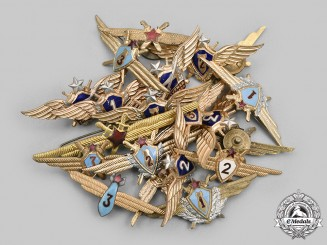 Russia, Soviet Union. A Lot of Twenty Soviet Air Forces Badges