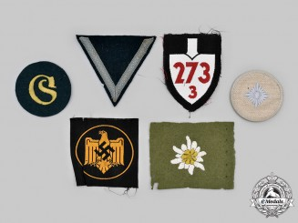 Germany, Third Reich. A Lot of Uniform Insignia