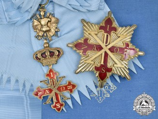 Italy, Kingdom of the Two Sicilies. A Constantinian Order of St. George, Grand Cross, by  GIOIELLERIA