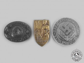 Germany, Third Reich. A Lot of Membership and Supporters Badges