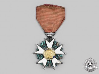 France, II Republic. A Legion of Honour, Knight, c. 1850