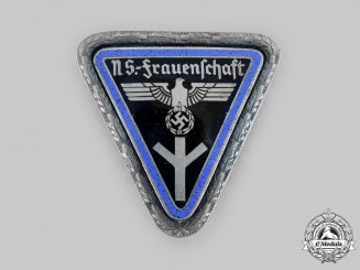Germany, Third Reich. A National Socialist Women's League Orts-Level Leader's Badge, by Wilhelm Deumer