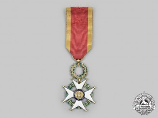 Spain. A Rare Royal and Military Order of St. Ferdinand, II Class in Gold, c. 1823
