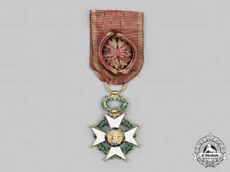 Spain, Kingdom. A Royal and Military Order of St. Ferdinand, II Class in Gold, c. 1840