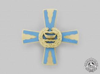 Finland, Republic. A Nylands Brigade Good Conduct Cross