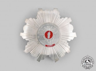 Madagascar, Democratic Republic. A National Order Grand Cross Star, c.1980