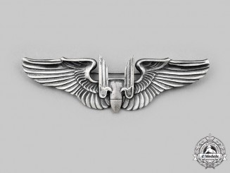 United States. A United States Army Air Force (USAAF) Aerial Gunner Badge, c.1944