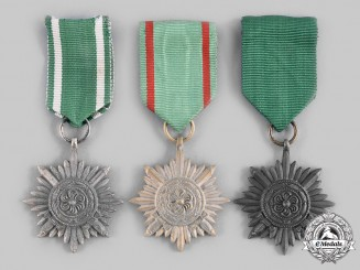 Germany, Wehrmacht. A Lot of Eastern People's Medals