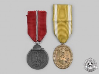Germany, Wehrmacht. A Pair of Service Medals