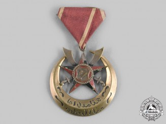 Yemen, Colony of Aden. An Order of Sultan Hussain of Kathiri Badge, c. 1965