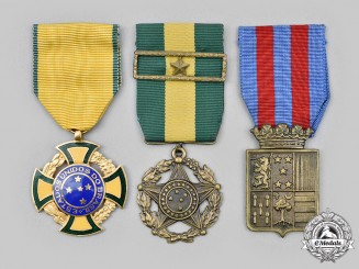 Brazil, Federative Republic. A Lot of Three Awards
