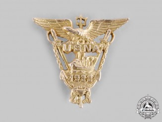 United States. A Class of 1922 United States Naval Academy Pin in Gold