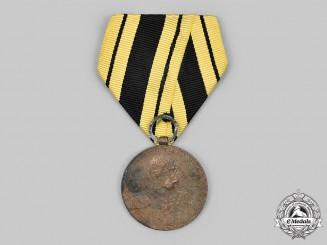 Austria, Imperial. An Emperor Franz Garde-Grenadier-Regiment Nr. 2 Bronze Jubilee Medal