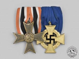 Germany, Third Reich. A Civic Medal Bar