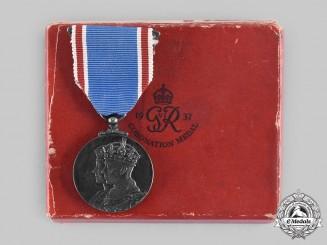 United Kingdom. A King George VI and Queen Elizabeth Coronation Medal 1937