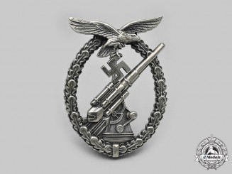 Germany, Luftwaffe. A  Flak Badge in Tombak, by F.W. Assmann & Söhne