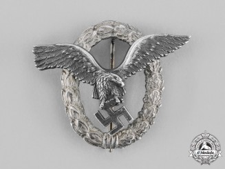 Germany, Luftwaffe. A Pilot's Badge, by Gebrüder Schneider