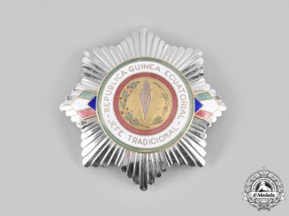 Equatorial Guinea, Republic. A Traditional Chief's Breast Star