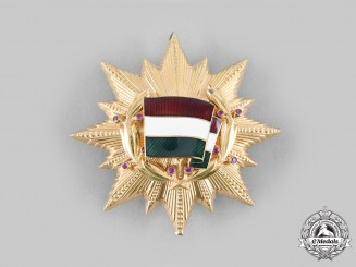 Hungary, People's Republic. An Order of the Flag of the People's Republic of Hungary, I Class