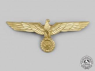 Germany, Kriegsmarine. An Officer's Summer Uniform Breast Eagle