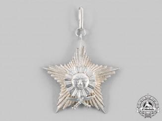 Nepal, Federal Democratic Republic. A Most Puissant Order of the Gorkha Dakshina Bahu, V Class
