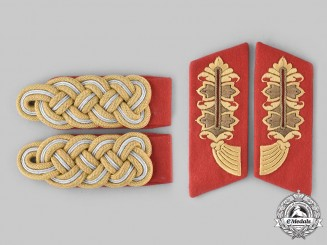 Germany, Heer. A Set of Heer Generalmajor Rank Insignia