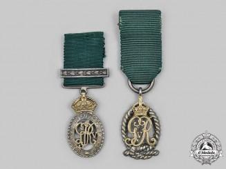 United Kingdom. Two First War Era Miniature Decorations