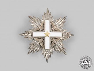 Italy, Republic. An Order of Merit, I Class Grand Cross Star, by Arthuro Pozzi, c.1960